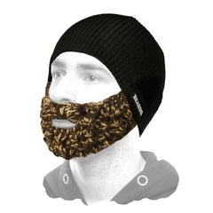 Beard hat with mix beard