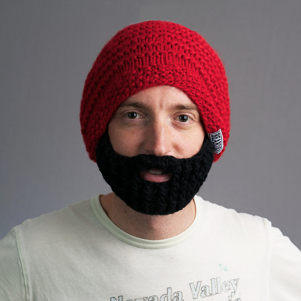 7404a0387f1 Beard Hat Santa combo - Only for the holidays!
