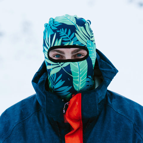 Tropical Ski Mask