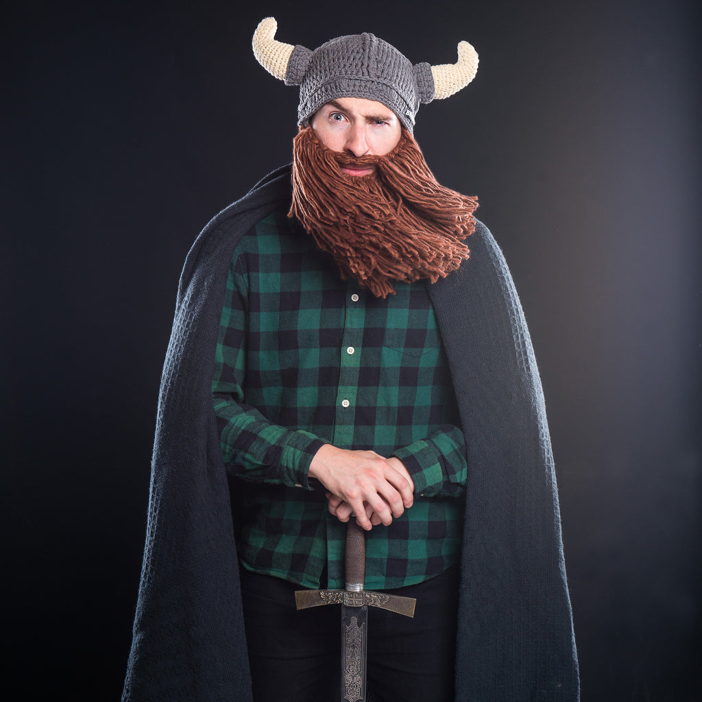 Viking Beard Hat Beardo 174