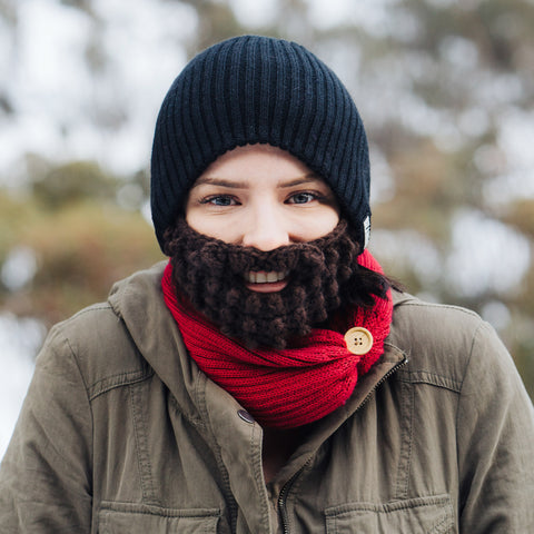 Beard Hat - Black