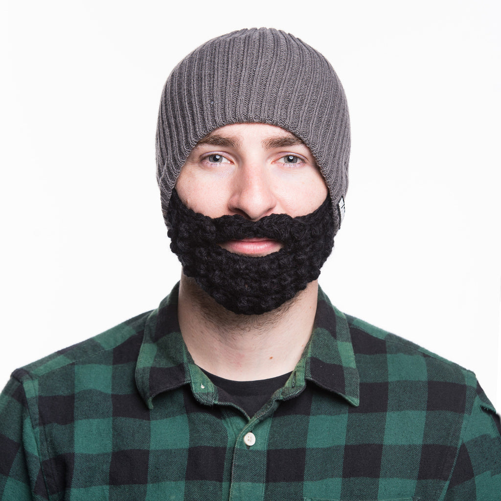 Beard Hat - Gray  f3e143e4340
