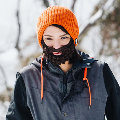 Beard Hat - Orange