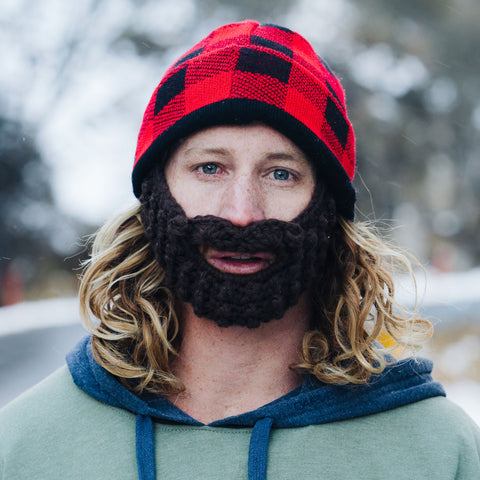 Beard Hat - Plaid