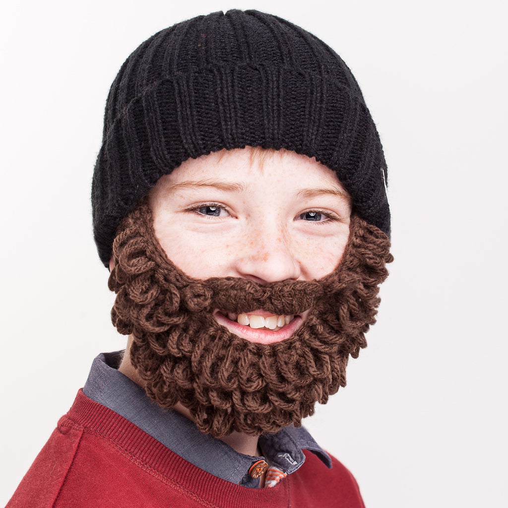25010176f07 KIDS  Burly  Beard Hat