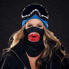 kissing ski mask
