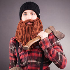 lumberjack viking beard hat