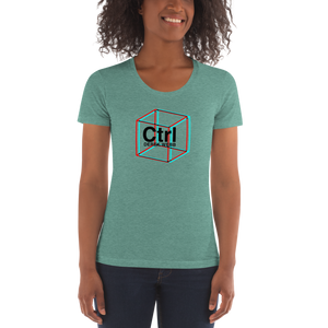 Women's Crew Neck T-shirt - CTRL