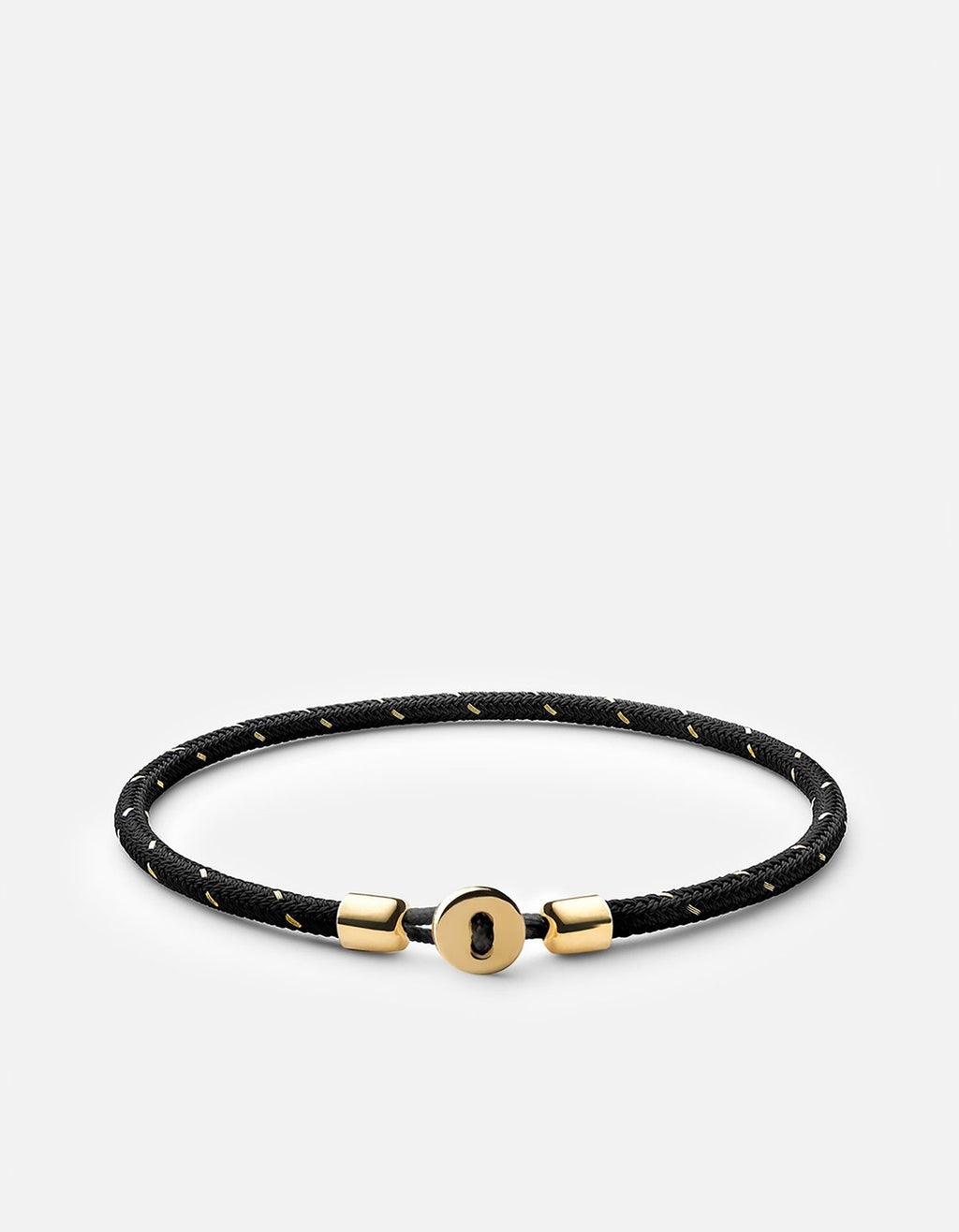 Miansai Nexus Rope Bracelet, Gold Vermeil, Polished