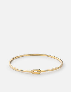 Miansai Ace Cuff, 14k Yellow Gold
