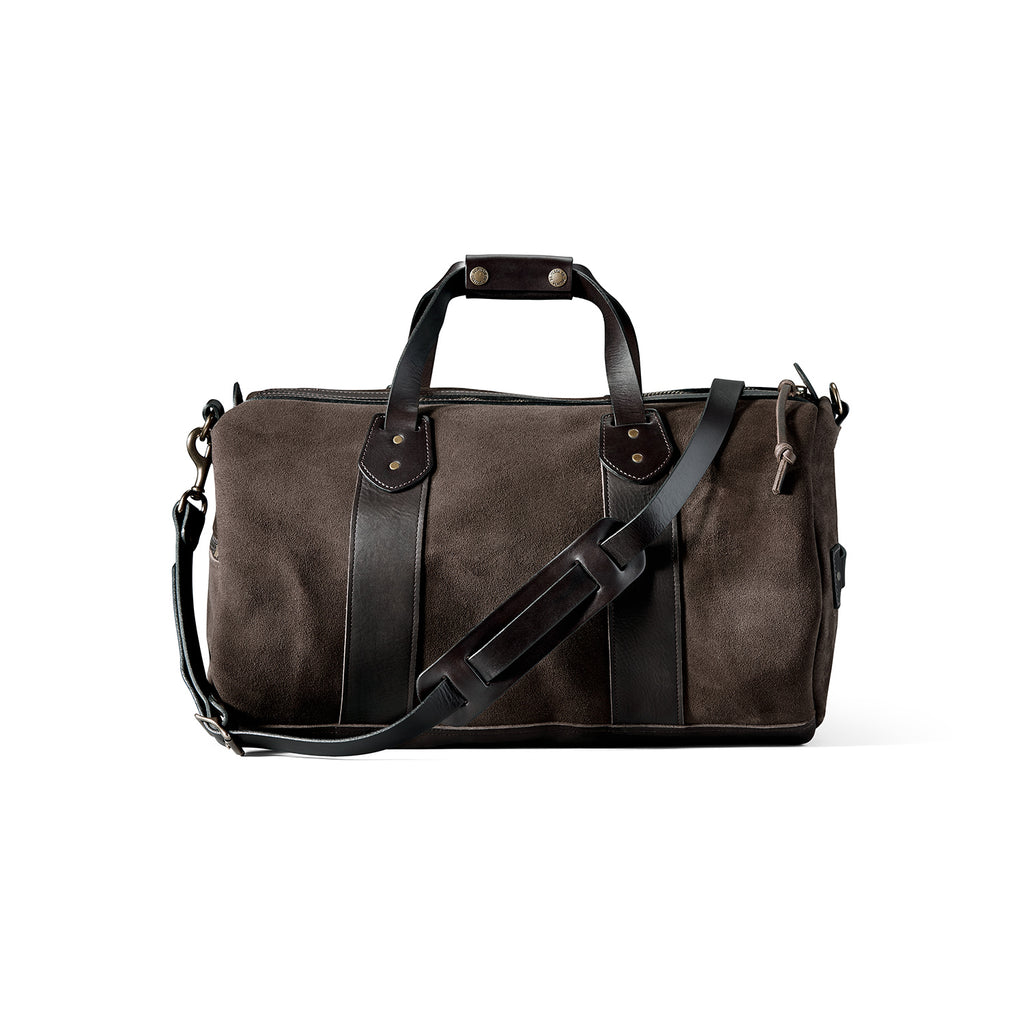 Filson-Rugged-Suede-Duffle-Bag