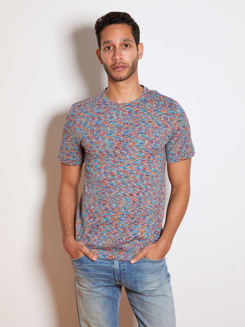Missoni Manica Corta T-Shirt, Red