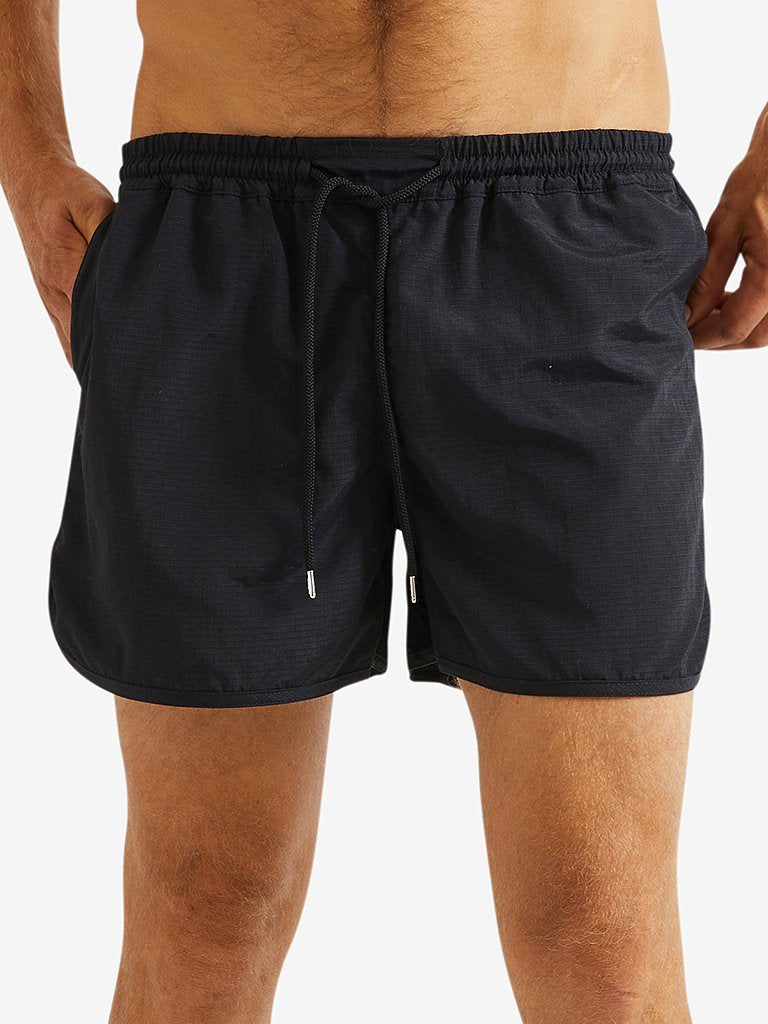 A Kind Of Guise Gili Swimshorts, Black Ripstop