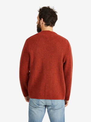 A-Kind-of-Guise-Gambino-Knit-Jacket-Rust-Melange