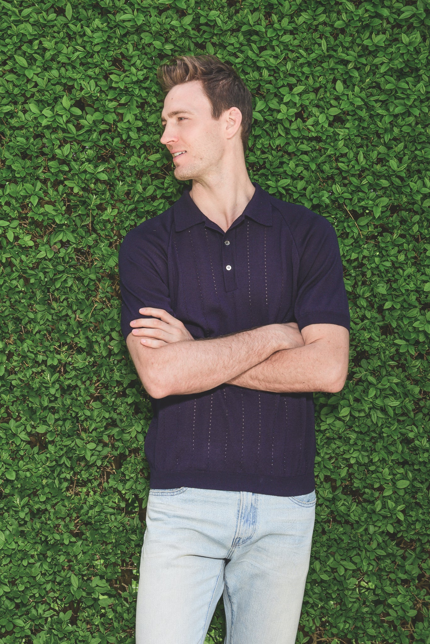 A Kind of Guise Baccara Knit Polo