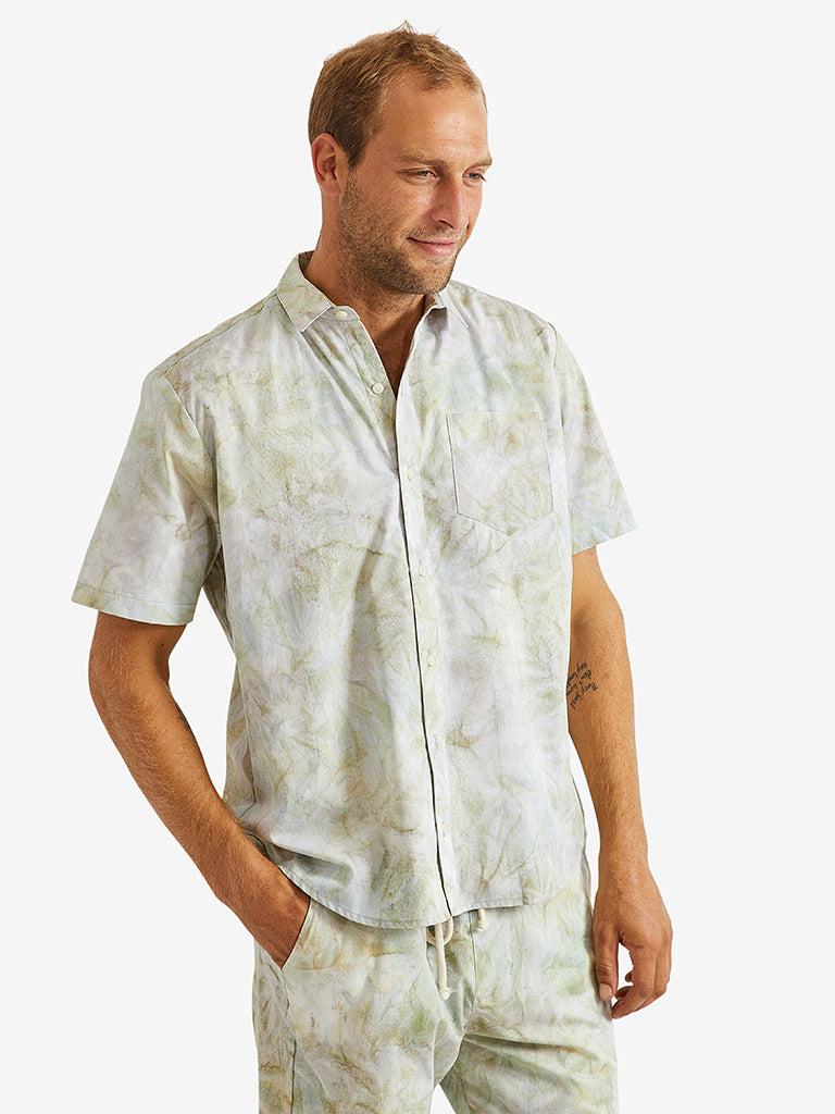 Adam-Mar-Batik-Button-Down-Shirt