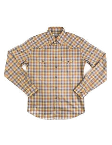 Brooklyn-Tailors-BKT13-Western-Shirt-Yellow-Plaid