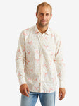 Bevilacqua David Shirt-White Floral Mix