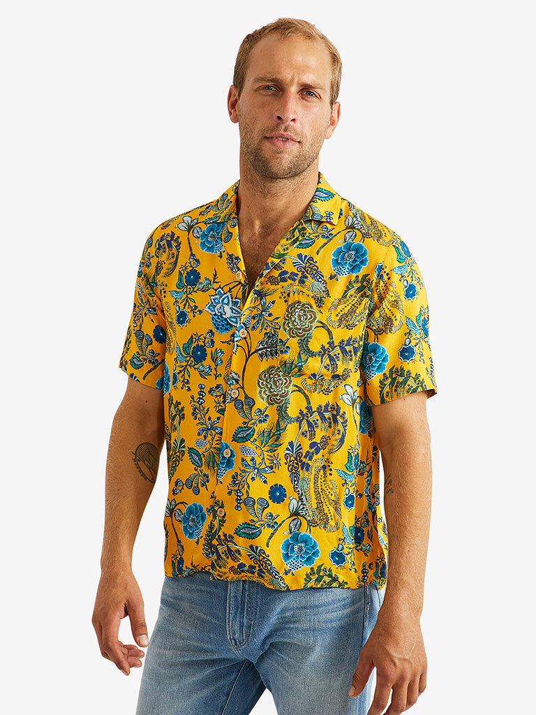 Bevilacqua Thai Shirt - Sonny Yellow