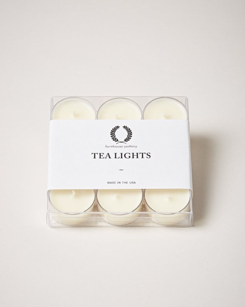 Farmhouse Pottery Tealight (9 Pack)