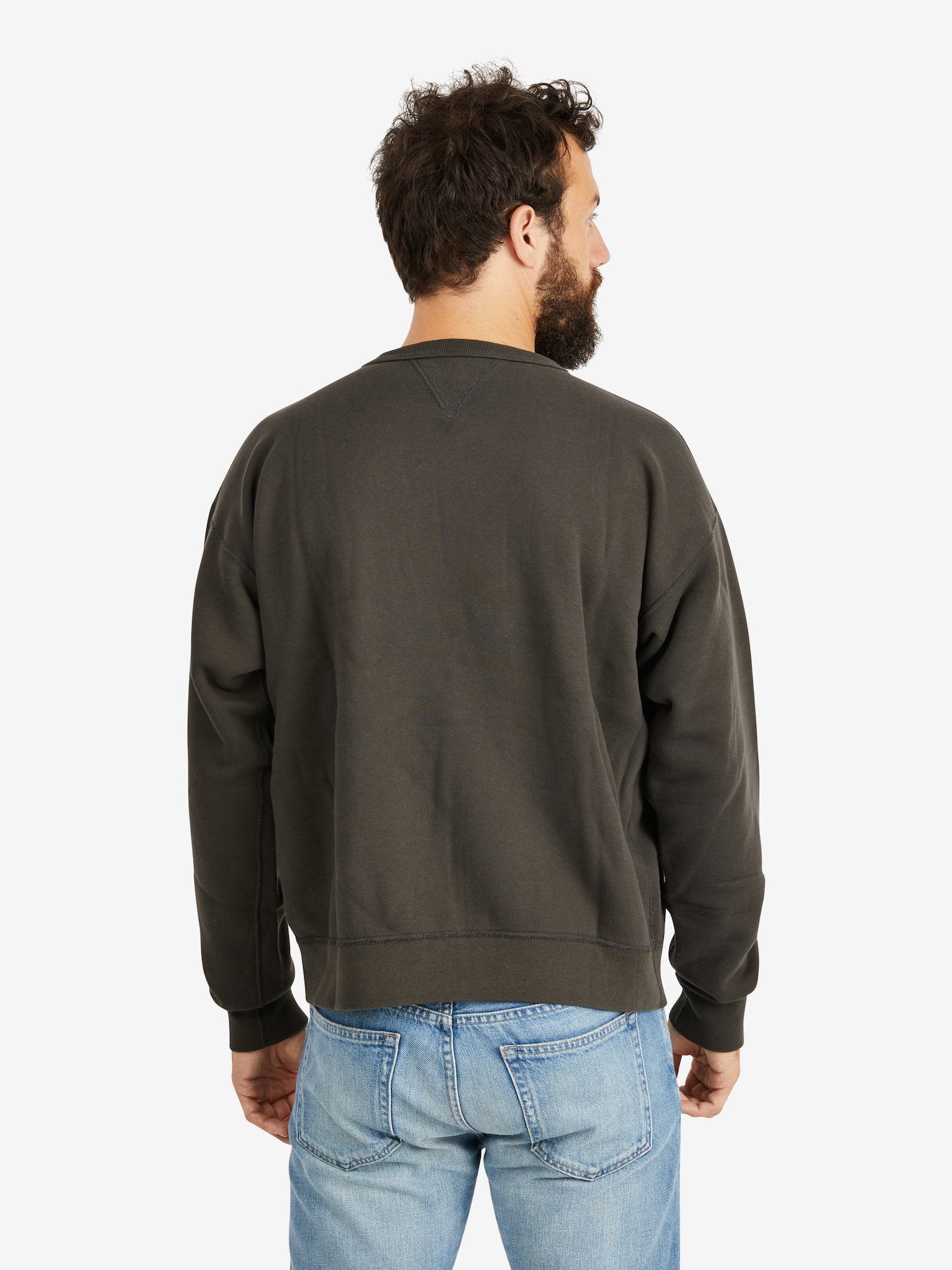 Chimala Sheep Fleece Crew Neck Reversible Sweatshirt