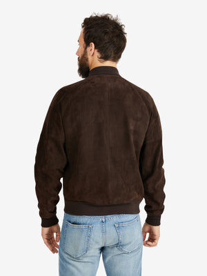 De Bonne Facture Suede Leather Jockey Jacket