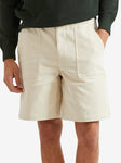 De Bonne Facture Painter Short, Cream