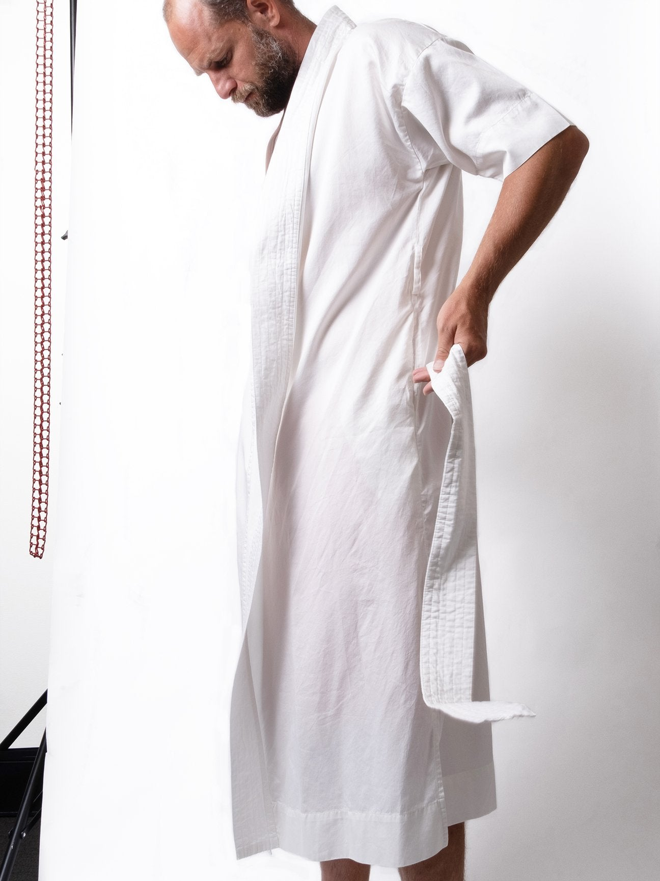 Cleverly-House-Robe-White