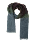 Lovat-&-Green-Fleecy-Scarf-Green