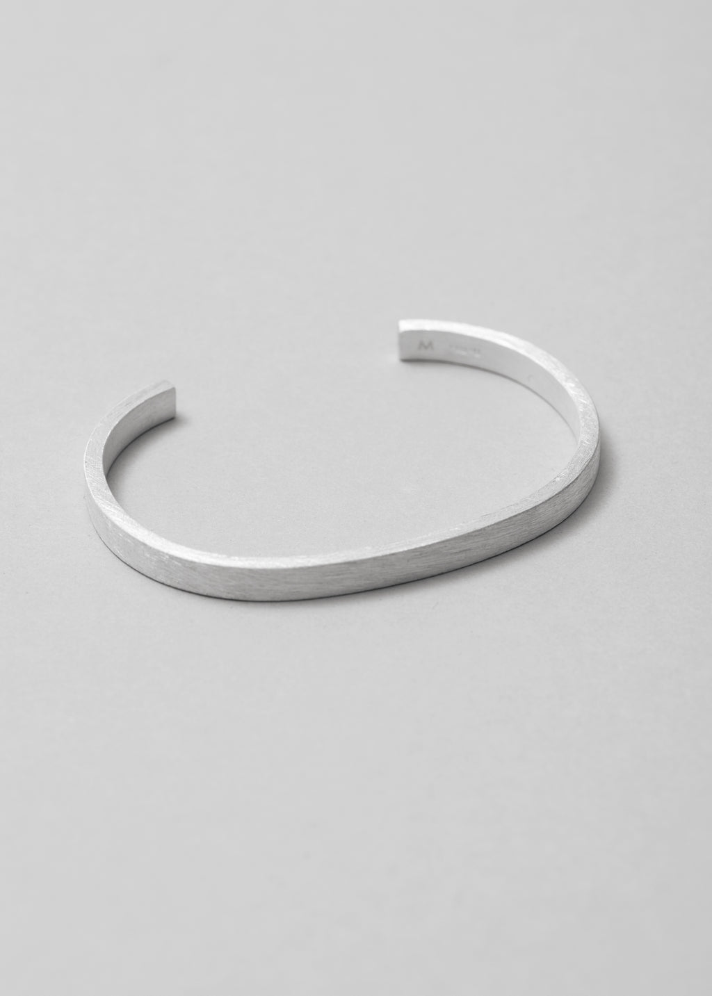 Geometry-Bracelet-Rectangle-Brushed-Silver