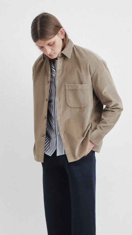 A-Kind-Of-Guise-Gusto-Shirt-Beige-Corduroy