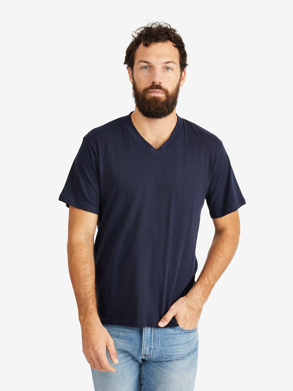 Hank-V-Neck-Tee-Navy