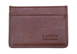 Lotuff-Leather-Credit-Card-Wallet-Chestnut