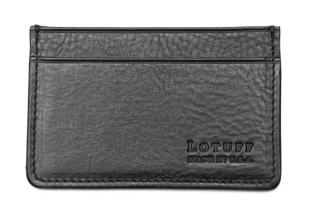 Lotuff-Leather-Credit-Card-Wallet-Black