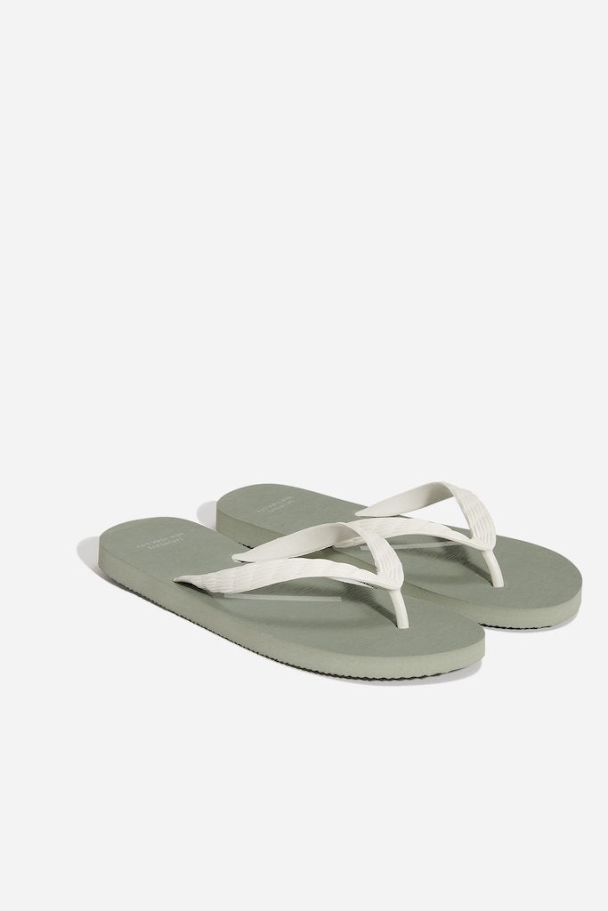 Saturdays NYC Boardwalk Sandal, Stone Green
