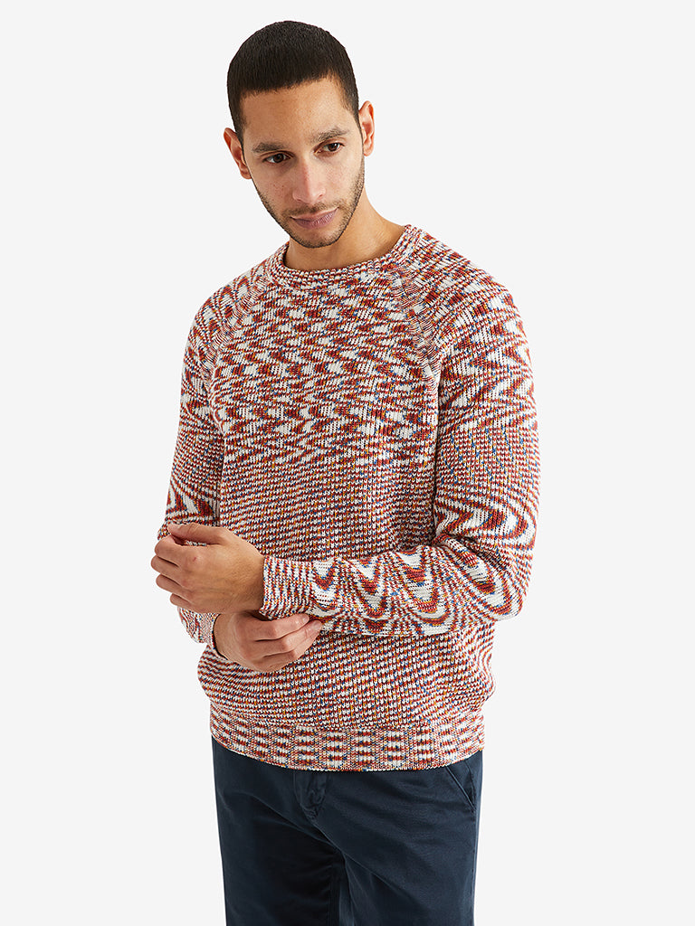 Missoni Raglan Long Sleeve Crewneck Sweater