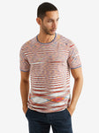 Missoni Short Sleeve Crewneck, Red
