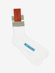 Missoni-Striped-Sock-Black/White