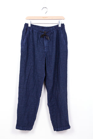 President's-Leisure-Compact-Linen-Dyed-Trouser-Blue-Moon
