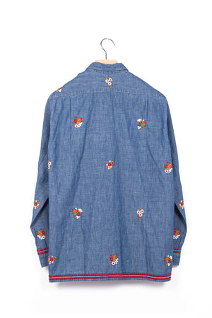 President's-P's-Embroidered-Arkansas-Chambray-Shirt