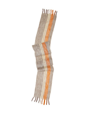Lovat-&-Green-Pencil-Scarf-Orange