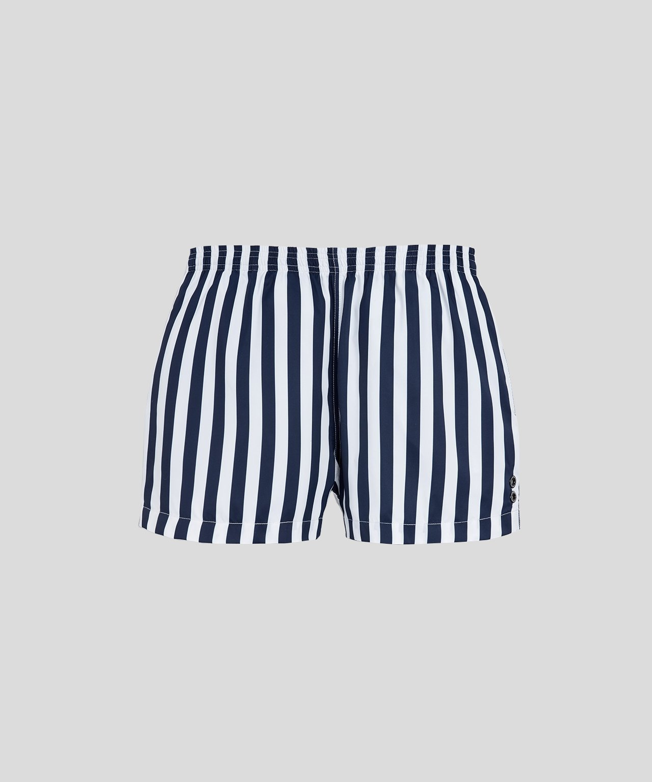 Ron-Dorff-Swim-Shorts-Vertical-Stripes-Navy/White