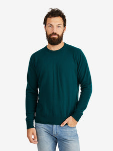 President's Brushed Washed Wool Crew Sweater