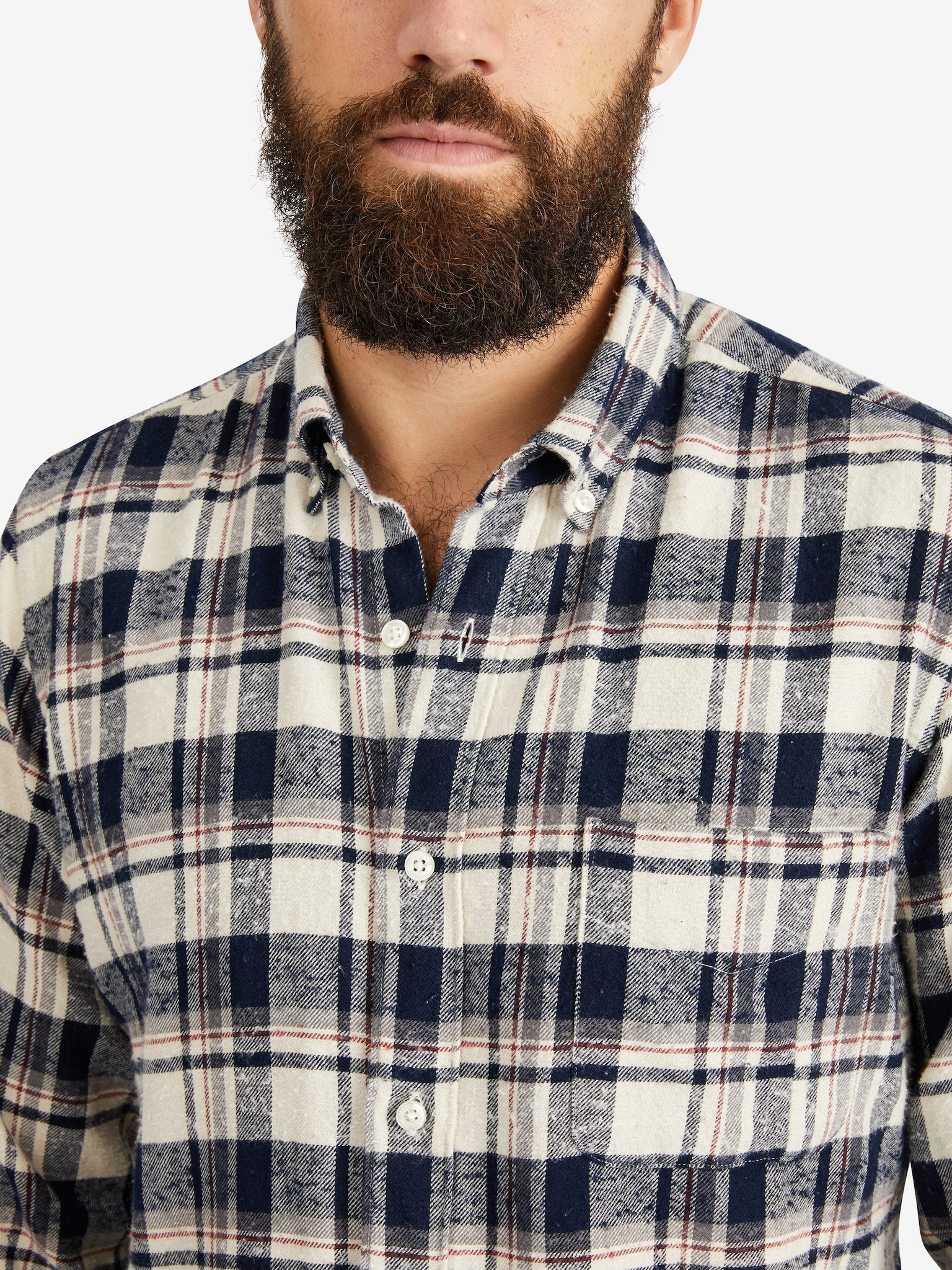 President's Chatham Check Flannel Shirt