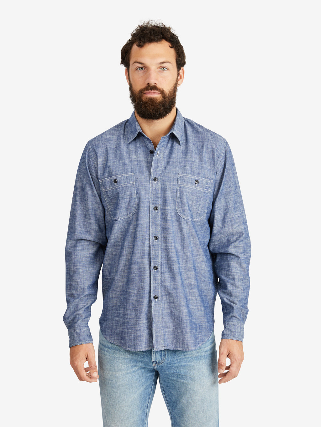 President's Kansas Japan Selvedge Chambray Shirt