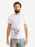 President's S/S P's Jersey Sketch Embroidered Skater T-Shirt-L