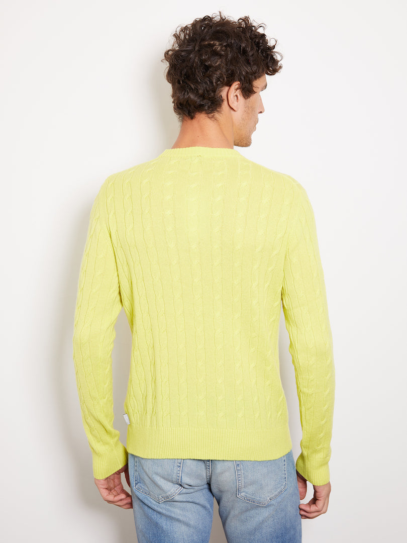 Hank Perfect Cashmere Madison Cable Crew