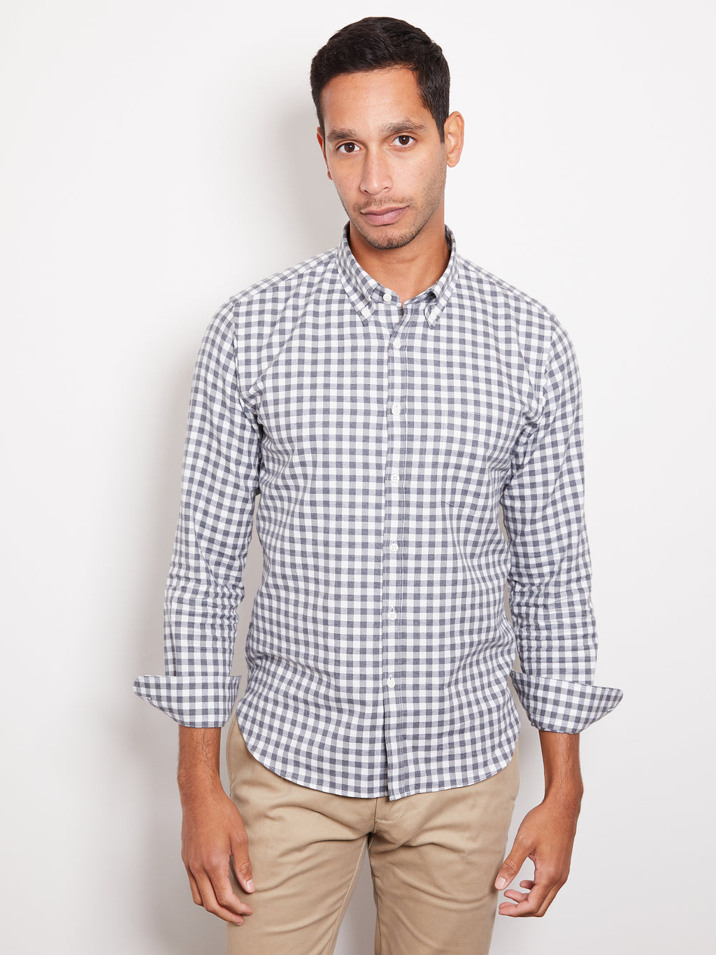 De-Bonne-Facture-Flannel-Button-Down-Shirt