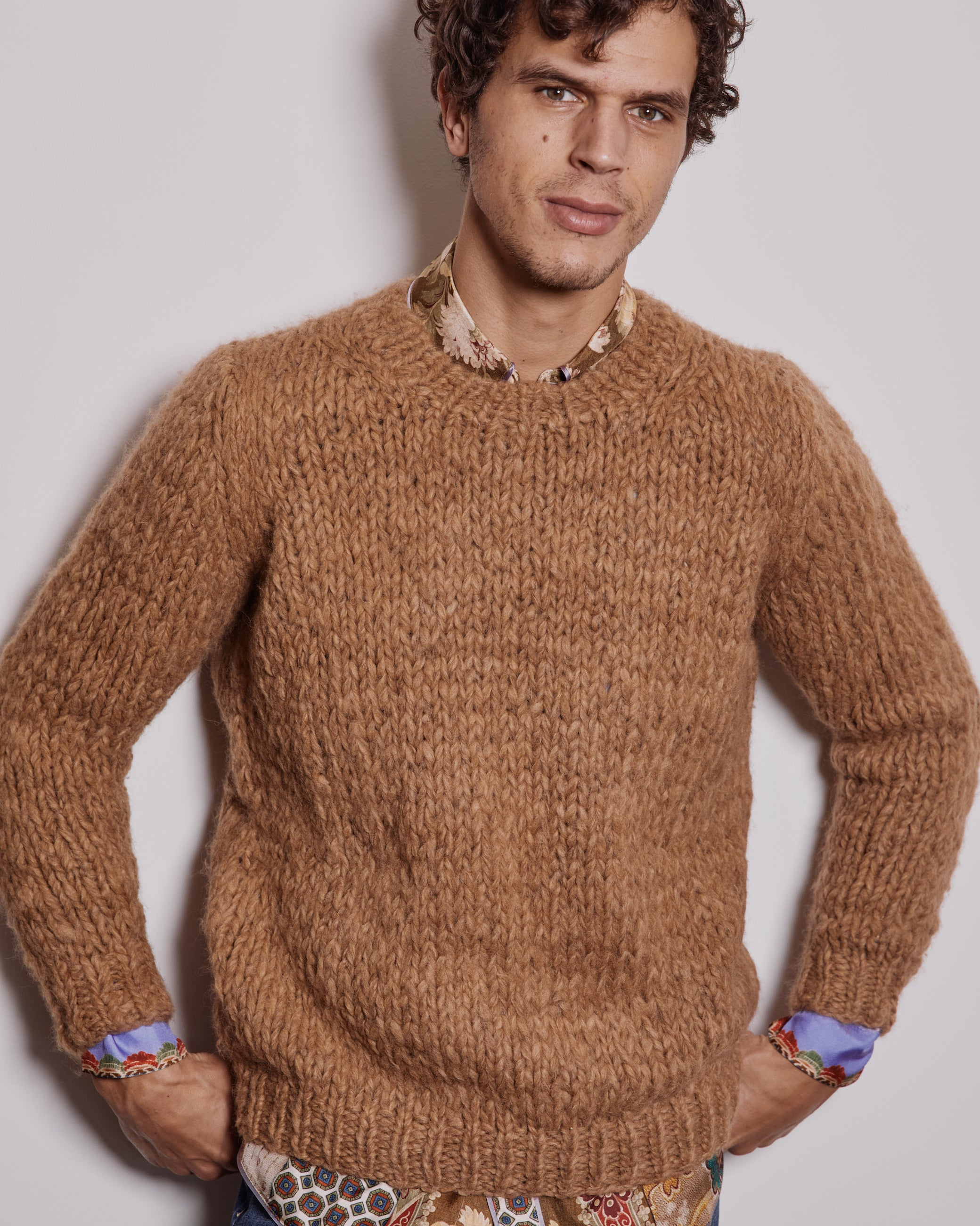 President's-Crew-Neck-Knitted-Alpaca-Sweater