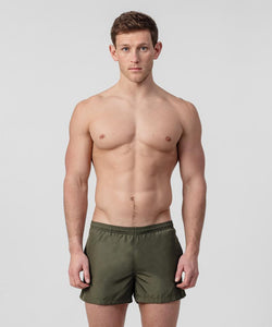 Ron-Dorff-Swim-Shorts-Side-Stripe-Green-Camp